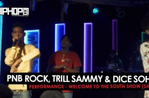 "PnB Rock, Trill Sammy & Dice Soho Perform ""Gang"" 2016 SXSW Performance (Video)"