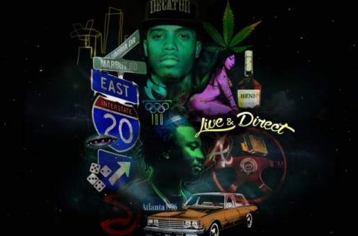 B.o.B x Scotty Atl – Live & Direct (Mixtape)
