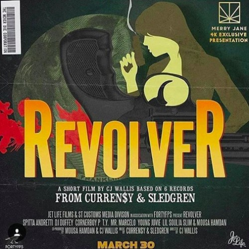 cur-2-500x500 Curren$y x Sledgren - Revolver (Short Film) (Video)