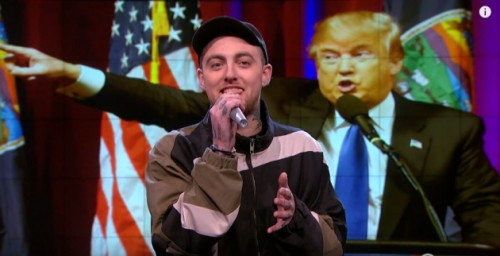 mm-1-500x256 Mac Miller Disses Donald Trump On The Nightly Show! (Video)