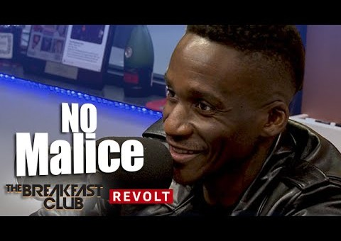 "No Malice Chops It Up With The Breakfast Club About His Documentary ""The End Of Malice"" (Video)"