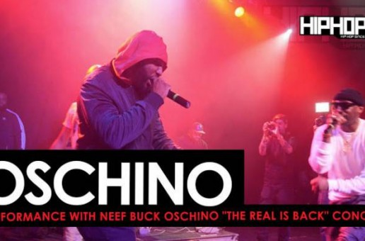 "Oschino Performs ""Sun Don't Shine"" & ""Scrappin The Pot"" with Neef Buck at ""The Real Is Back"" Concert (Video)"