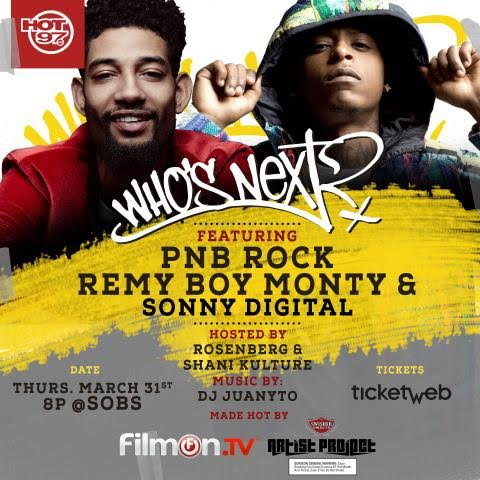 unnamed-1-13 Hot 97's Who's Next Live ft. PNB Rock, Remy Boy Monty & Sonny Digital @ SOB's (NYC)