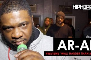"AR-AB ""Who Harder Than Me 3"" Preview (HHS1987 Exclusive)"