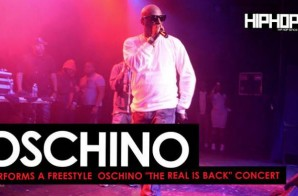 "Oschino Spits a Freestyle at his ""The Real is Back"" Concert (HHS1987 Exclusive) (Video)"