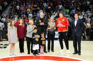 Atlanta Hawks' Big Man Mike Muscala Awarded the Jason Collier Memorial Trophy