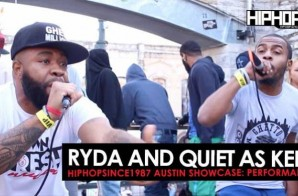 "Ryda and Quiet As Kept Perform ""Keep It 100"", ""Down"" & ""Different Lane"" At The 2016 Austin HHS1987 Showcase (Video)"