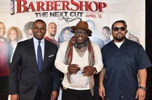 Ice Cube & Cedric The Entertainer Host A Private Screening For 'Barbershop: The Next Cut' In Atlanta (Photos)