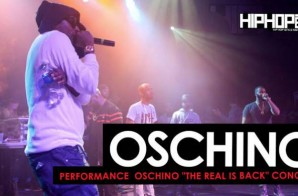 "Oschino Performs at his ""The Real is Back"" Concert (HHS1987 Exclusive)"