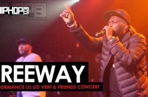 DJ Drama Brings out Freeway at the Lil Uzi Vert & Friends concert (Video)