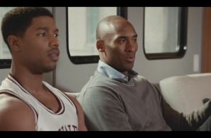 "Kobe Bryant Schools Michael B. Jordan In ""Father Time"" Commercial For Apple TV (Video)"