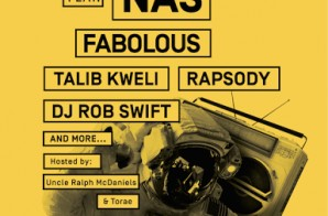 Nas, Fabolous And More Set To Headline BK Hip-Hop Festival This Summer!