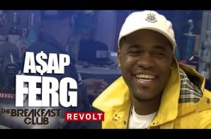 A$AP Ferg Talks A$AP Yams' Death, Working W/ Missy Elliott, Kanye West Co-Sign His Album & More On The Breakfast Club (Video)