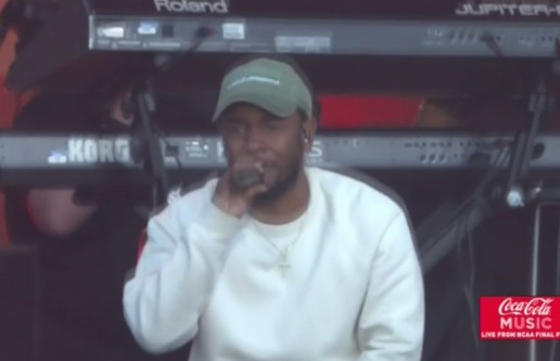 "Kendrick Lamar Performs ""untitled 07/Levitate"" At March Madness Festival (Video)"