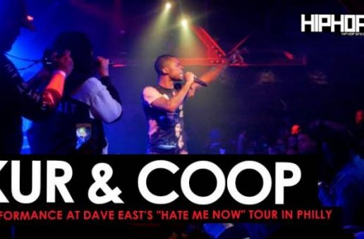 "Dave East Brings out Kur & Coop at his ""Hate Me Now"" Tour in Philly (Video)"