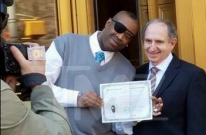 Slick Rick Becomes American Citizen!