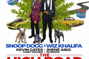 "Wiz Khalifa & Snoop Dogg Hit ""The High Road"" This Summer On A New Tour!"