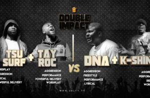 Tsu Surf & Tay Roc Vs. K Shine & DNA (URL Rap Battle) (Video)