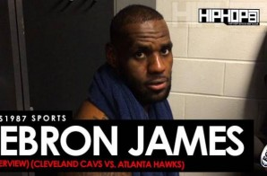 HHS1987 Sports: LeBron James Talks Passing Oscar Robertson On The All-Time NBA Scoring List, Yao Ming's Hall of Fame Career, Defeating the Atlanta Hawks, Playoff Basketball & More (Video)