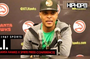 "T.I. Talks The Atlanta Hawks 2015-16 Season, Performing in Las Vegas, Starring In Will Packer's ""Roots"", 'The Dime Trap', 2016 Endeavors"