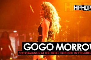 GoGo Morrow Opens Up For Tweet In Philadelphia (5/26/16)