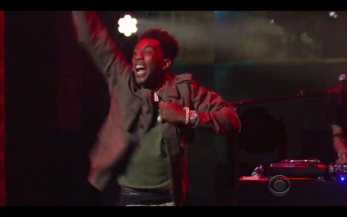 "Screen-Shot-2016-05-12-at-7.33.50-AM-1 Desiigner Lights Up The Stage As He Performs ""Panda"" On The Late Show (Video)"