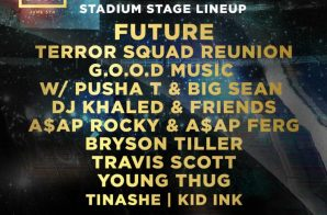 Hot 97 Adds Future, Terror Squad Reunion & Travis Scott To Summer Jam Stadium Stage!