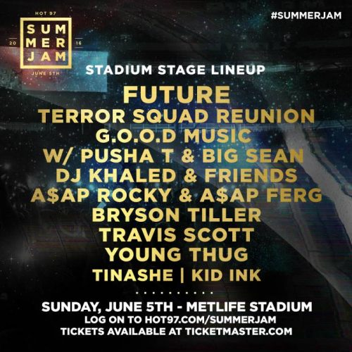 Stadium-Stage-Line-Up-UPDATED-05-05-16-500x500 Hot 97 Adds Future, Terror Squad Reunion & Travis Scott To Summer Jam Stadium Stage!