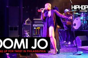 Domi Jo Opens Up For Tweet in Philadelphia (5/26/16)