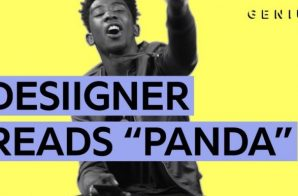 "Desiigner Breaks Down The Lyrics To His Hit ""Panda"" (Video)"