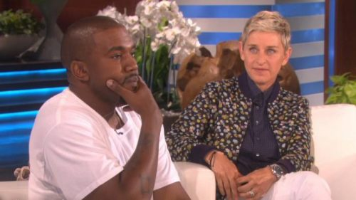 "kw-500x281 Kanye West Delivers ""Stream Of Consciousness"" Rant On The Ellen Show (Video)"