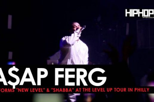 """A$AP Ferg Performs """"New Level"""" and """"Shabba"""" at The Level Up Tour in Philly"""