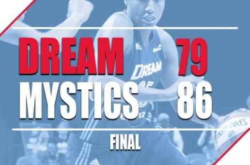 Streak Stopped At 5: The Atlanta Dream's 5 Game Winning Streak Was Snapped After A (86-79) Lost To The Washington Mystics
