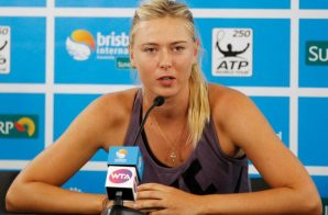 Tennis Star Maria Sharapova Has Been Suspended 2 Years Over Her Positive Doping Test