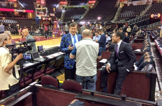 Craig Sager Will Join The ESPN/ABC Staff For Game 6 Of The 2016 NBA Finals