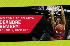#ICYMI The Atlanta Hawks Drafted DeAndre' Bembry & Isaia Cordinier In The 2016 NBA Draft