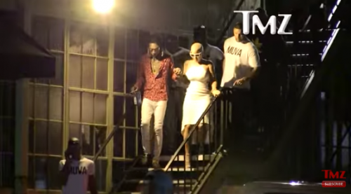 Screen-Shot-2016-06-07-at-5.41.14-PM-500x277 Wiz Khalifa & Amber Rose Hit Up A Strip Club To Celebrate Their Divorce