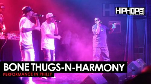 bone thugs performance philly
