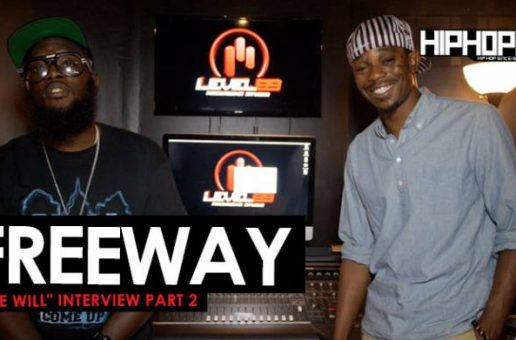 "Freeway ""Free Will"" Interview (Part 2)"