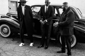"Jay Z, Future & DJ Khaled On Set For ""I Got The Keys"" Video Shoot"