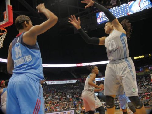 moore-Angel-500x375 The Atlanta Dream Fall Short To The Minnesota Lynx (110-78); The Dream Host The Connecticut Sun This Sunday