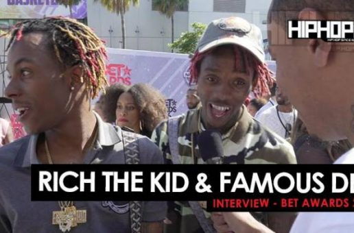 Rich The Kid & Famous Dex Talk Their Upcoming Project 'Rich Forever 2' & More On The 2016 BET Awards Carpet