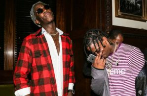 "Travis Scott goes off on Twitter after 300 removed his new song ""Pick Up The Phone"""