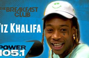 Wiz Khalifa Interviews With The Breakfast Club (Video)