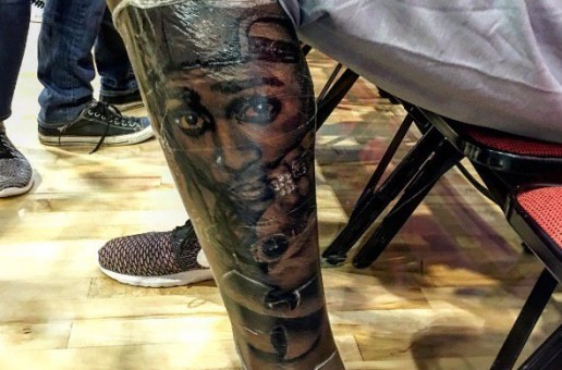 California Love: Golden State Warriors Star Kevin Durant Reveals His New 2Pac & Wu-Tang Leg Tattoo (Photo)