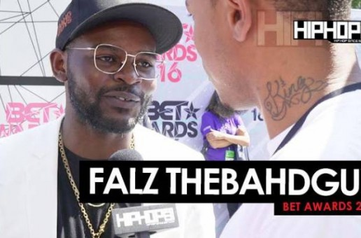 Falz TheBahdguy Talks Hip-Hop's Global Presence, Nigerian Rap Music, Afro Beats & More On The 2016 BET Awards Red Carpet (Video)
