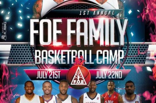 1st Annual F.O.E (Marcus Morris & Markieff Morris) Basketball Camp July 21st & 22nd