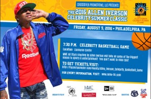 Allen Iverson 2016 Celebrity Summer Classic (Aug. 5th, 2016 In Philly)