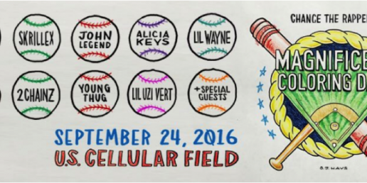 Chance The Rapper Gifts his Hometown with Magnificent Coloring Day