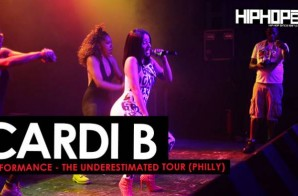 "Cardi B Performance in Philly The ""Underestimated"" Tour. (HHS1987 Exclusive)"
